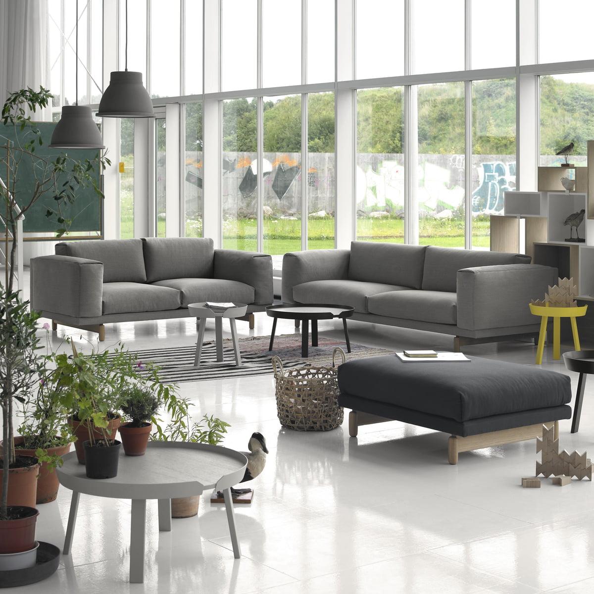 Rest Sofa 2  Und 3 Sitzer Und Pouf
