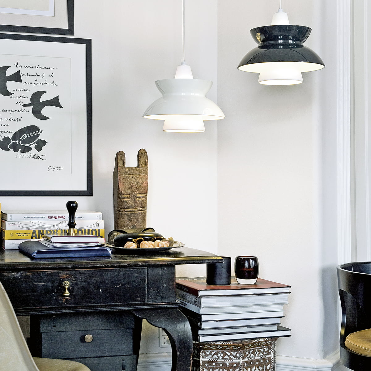 doowop pendelleuchte von louis poulsen kaufen. Black Bedroom Furniture Sets. Home Design Ideas