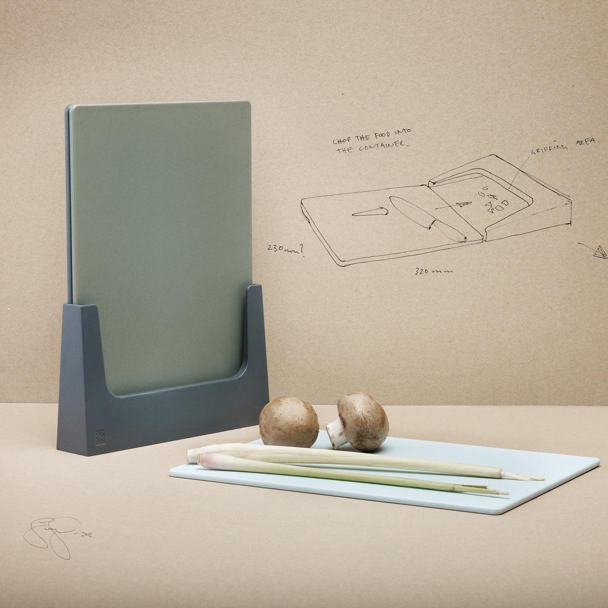 RIG-TIG by Stelton - Chop-It Schneidebretter-Set| schwarz | Küche und Esszimmer > Kochen und Backen > Küchenhelfer | Stelton