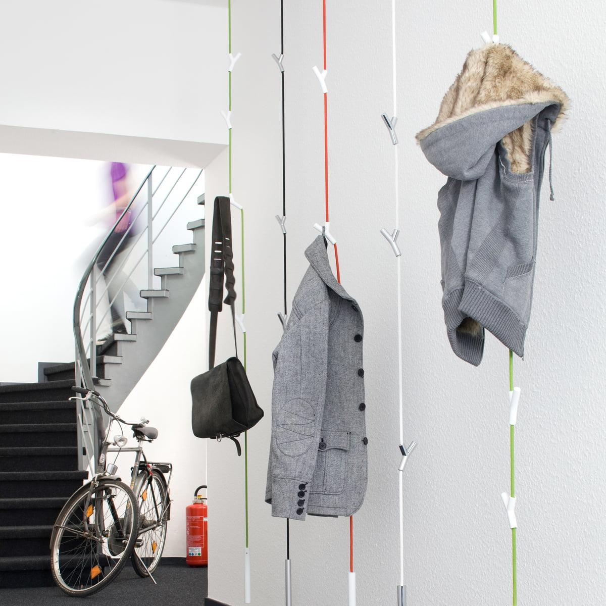 Wardrope garderobenseil von authentics for Garderobe decke