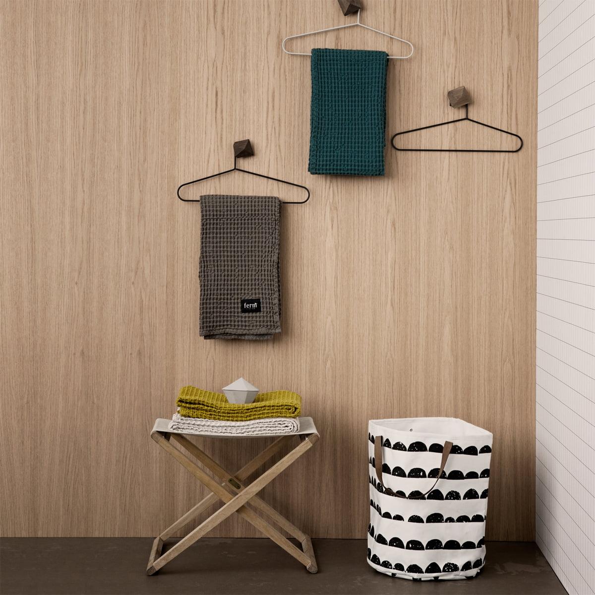 ferm LIVING - Organic Badetuch| 140 x 70 cm| dusty rose | Bad > Handtücher > Badetücher | ferm living