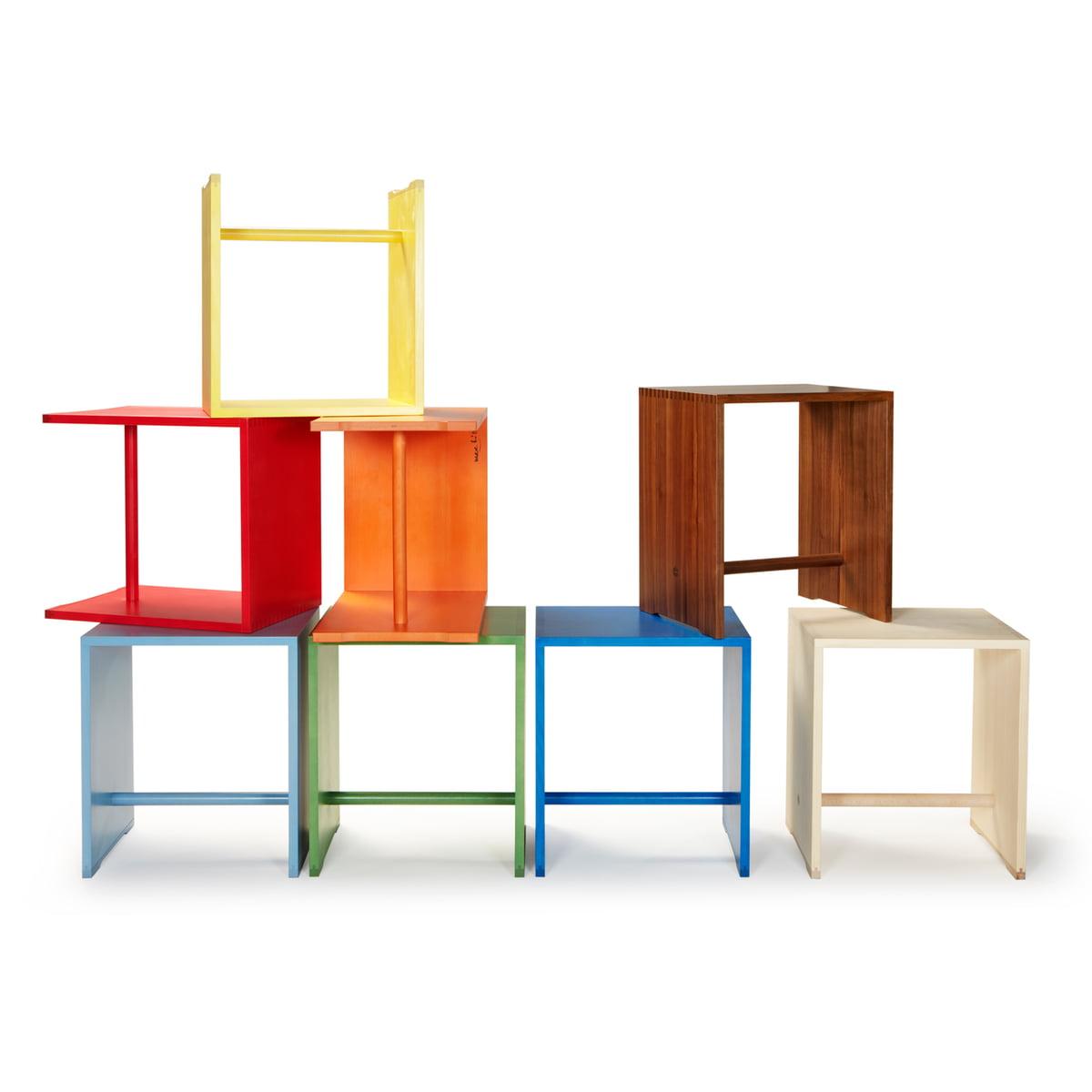 ulmer hocker von wb form im wohndesign shop. Black Bedroom Furniture Sets. Home Design Ideas