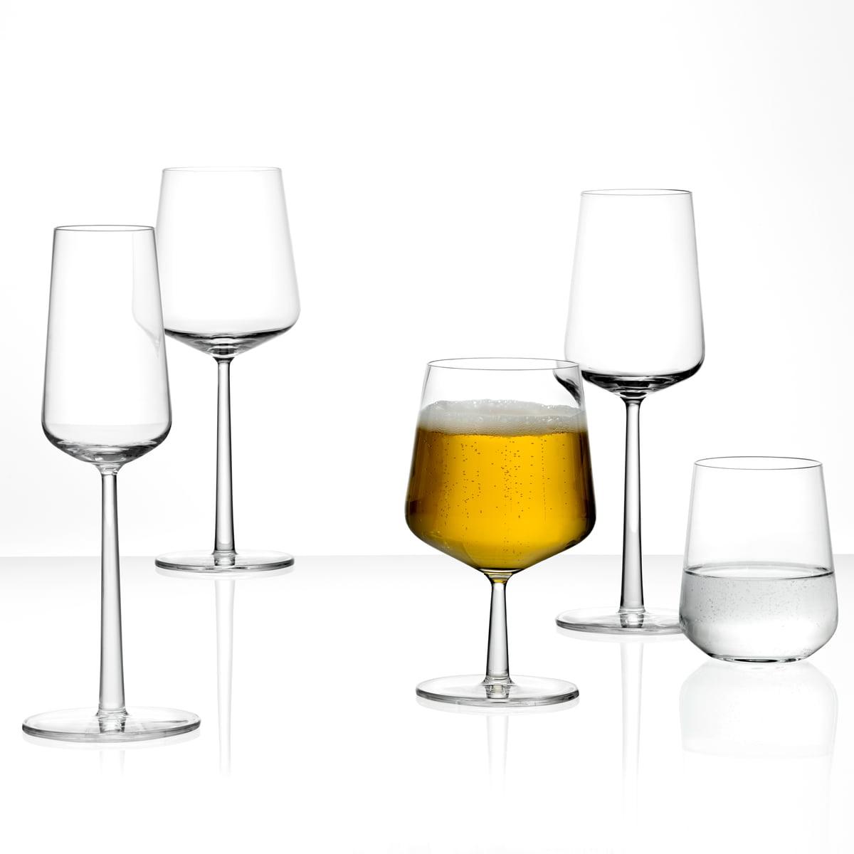 Iittala - Essence Sherry-Glas  15 cl (2er-Set)   Küche und Esszimmer > Besteck und Geschirr > Gläser   Iittala