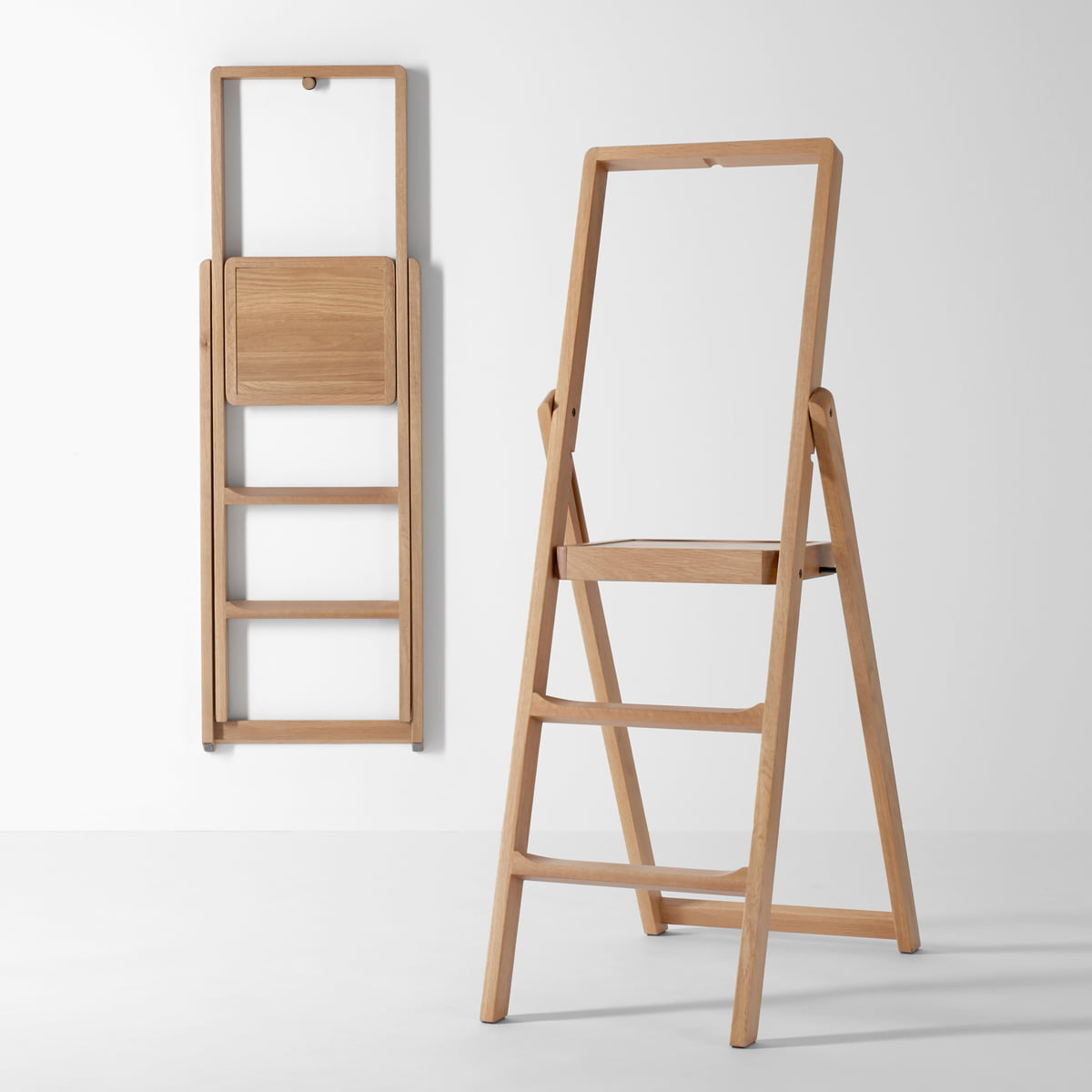 step klappleiter von design house stockholm. Black Bedroom Furniture Sets. Home Design Ideas