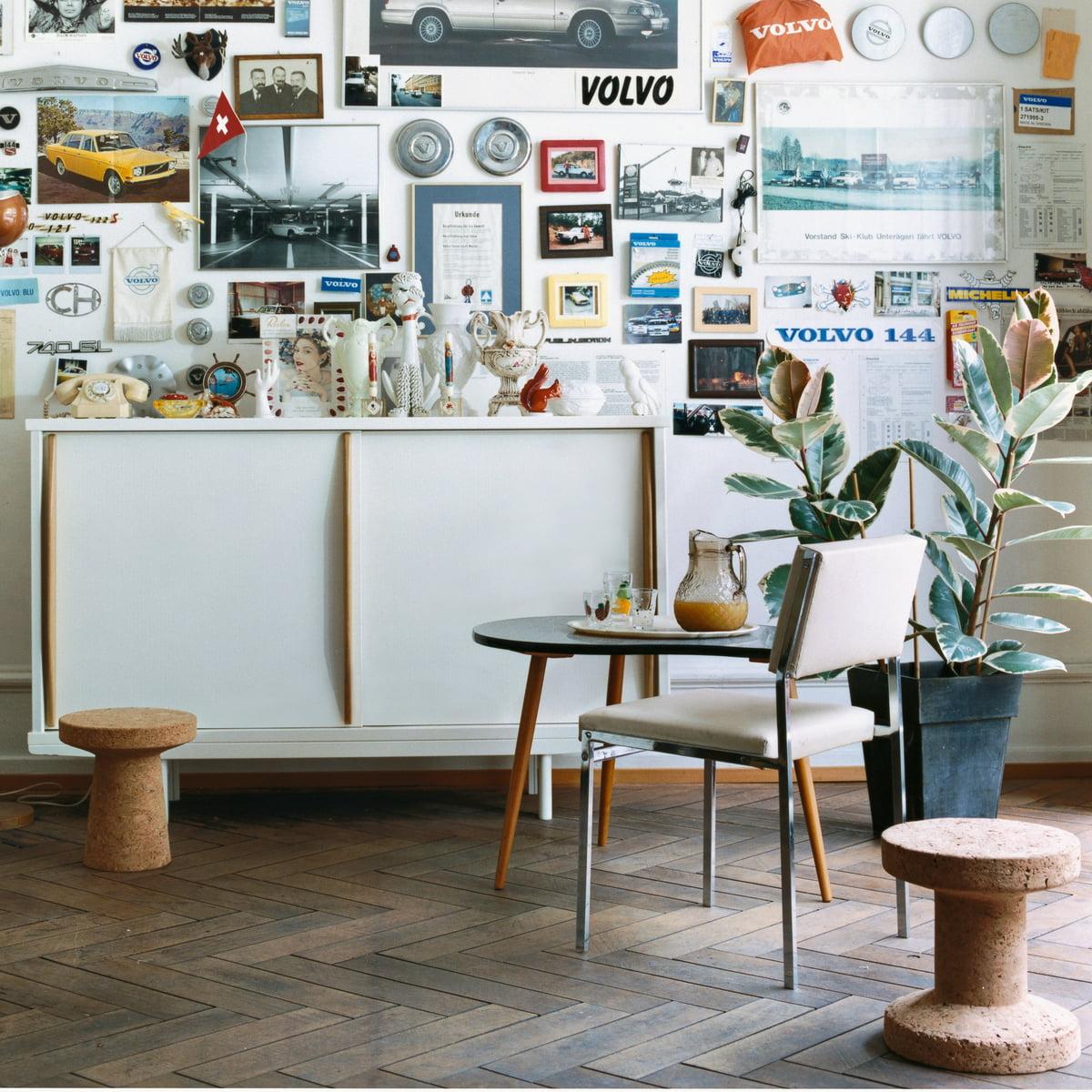 Kork hocker von vitra im wohndesign shop for Wohndesign shop