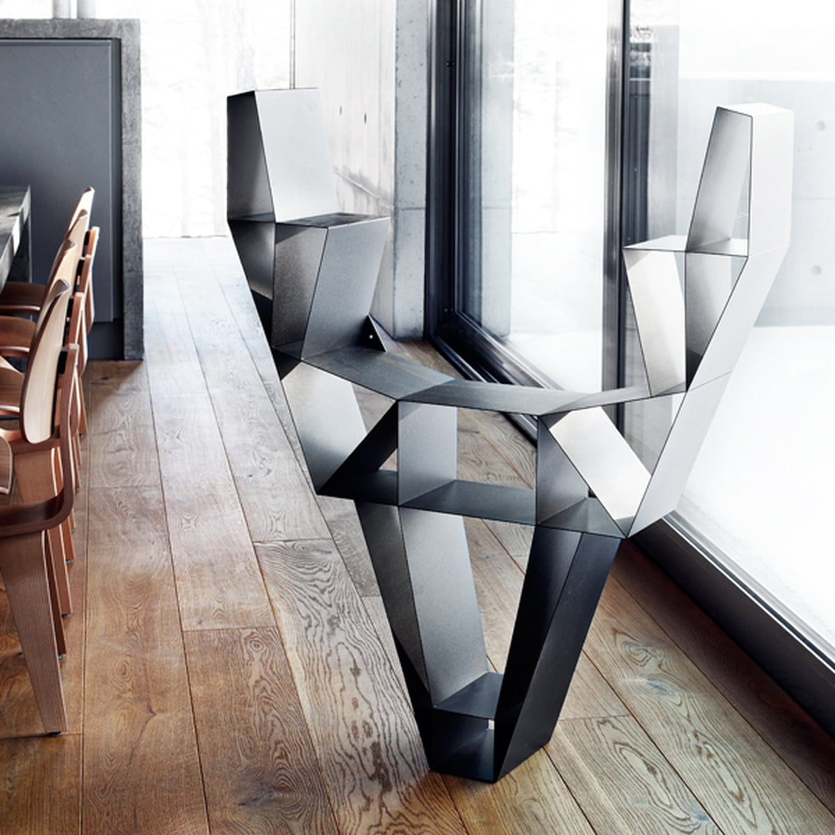 metallregal schwarz klein. Black Bedroom Furniture Sets. Home Design Ideas