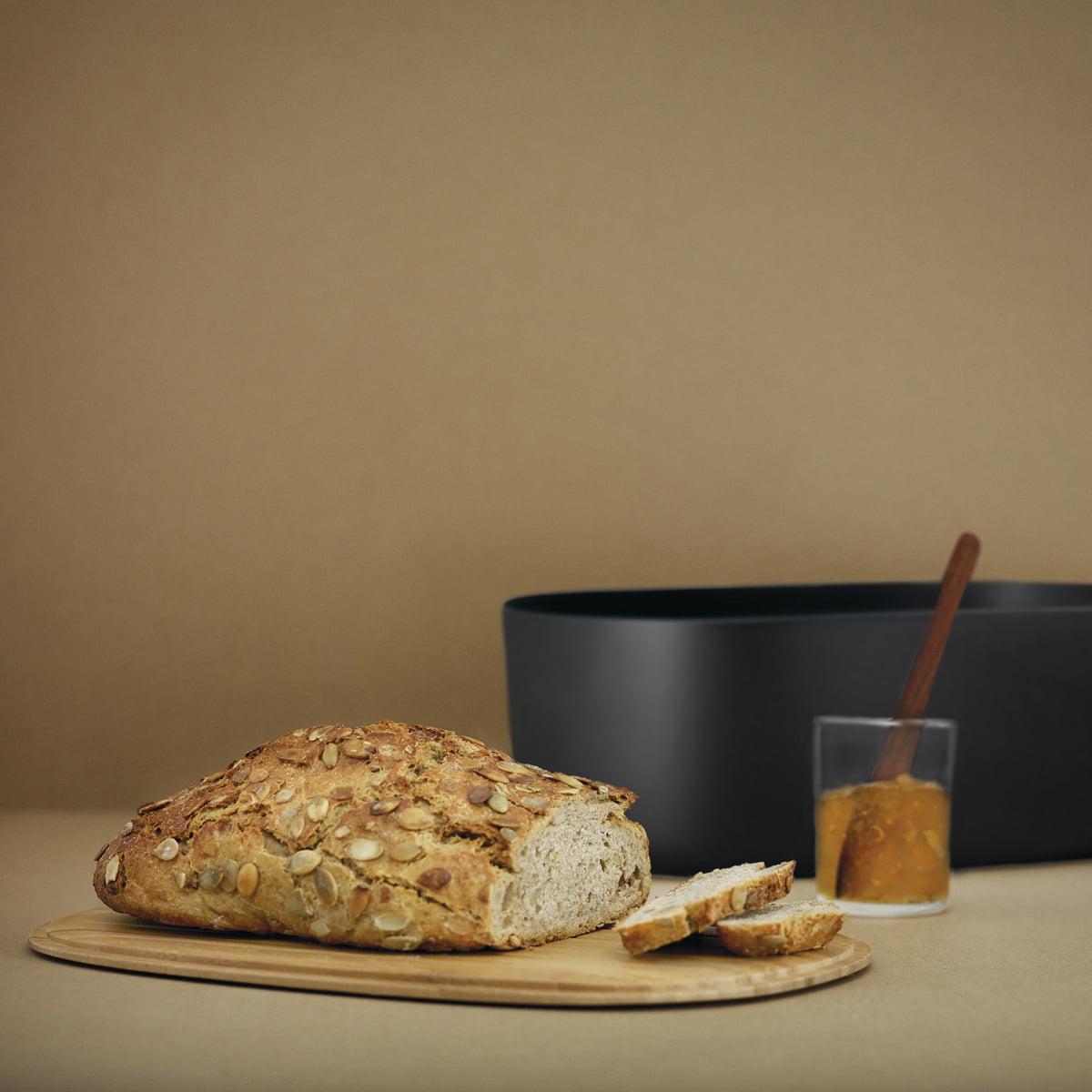 RIG-TIG by Stelton - Box-It Brotkasten| dunkelblau | Küche und Esszimmer > Aufbewahrung | Stelton