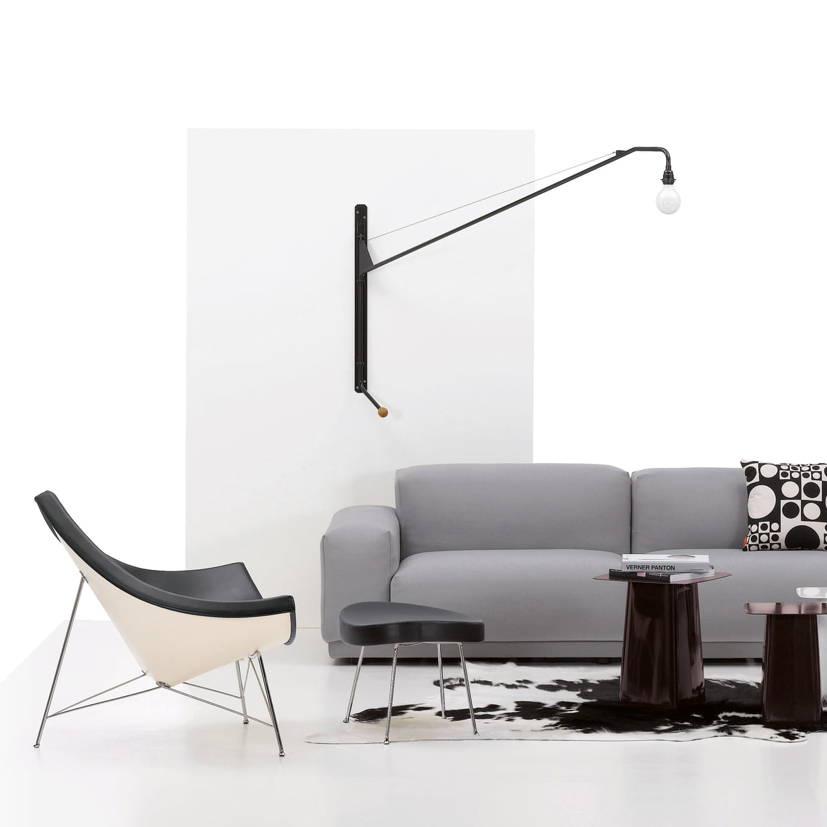 wandleuchte potence von vitra im shop. Black Bedroom Furniture Sets. Home Design Ideas