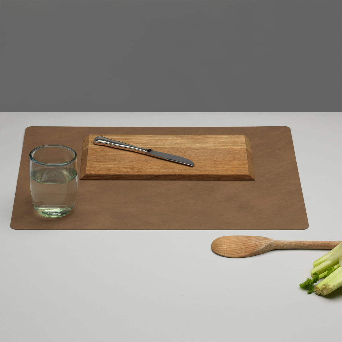 LindDNA - Tischset Square L 35 x 45 cm| Hippo forest green | Heimtextilien > Tischdecken und Co | LIND DNA