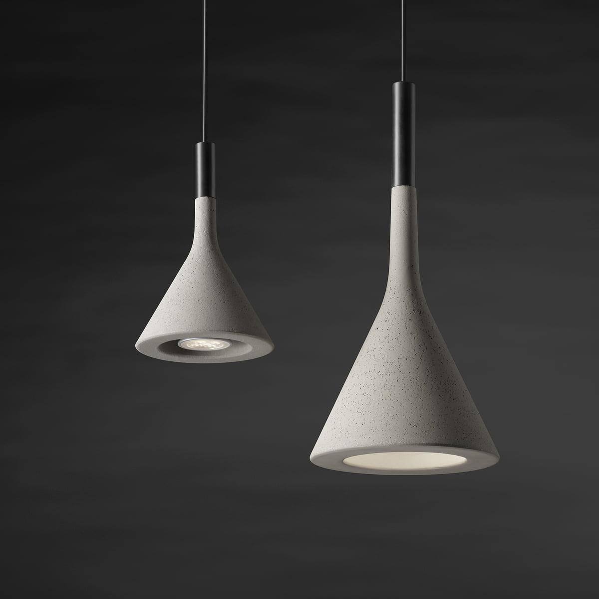 beton leuchte aplomb von foscarini im shop. Black Bedroom Furniture Sets. Home Design Ideas