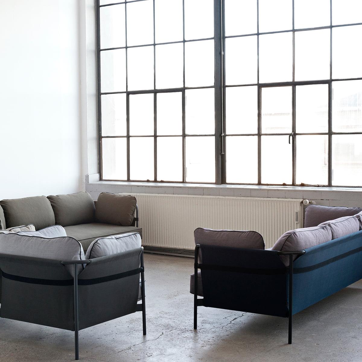 Can 2 sitzer sofa von hay im wohndesign shop for Wohndesign 3d