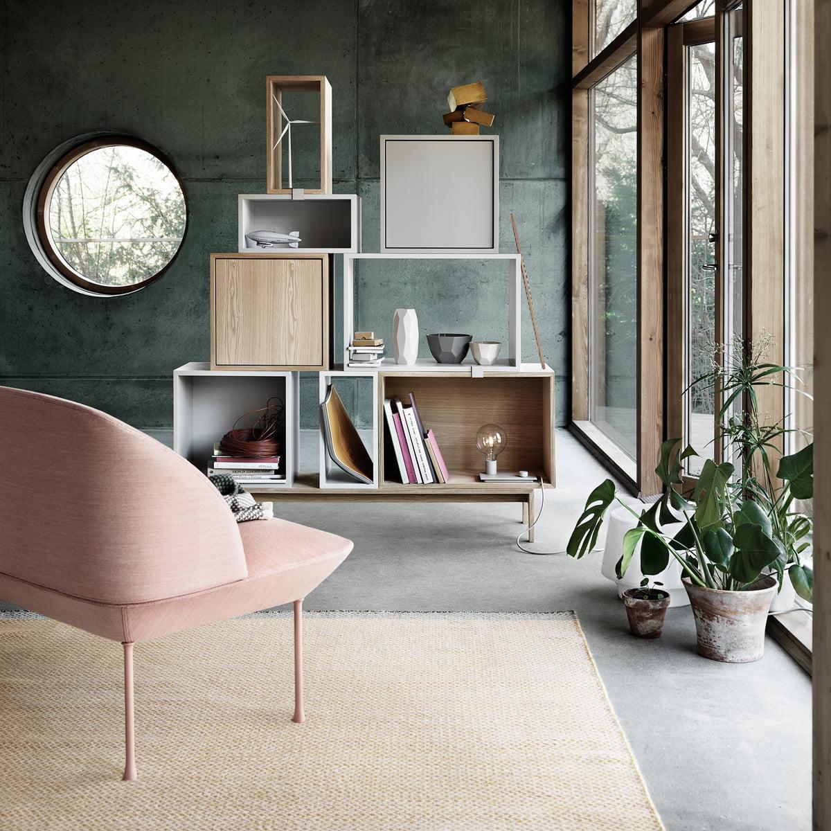 muuto stacked regalsystem esche im shop. Black Bedroom Furniture Sets. Home Design Ideas