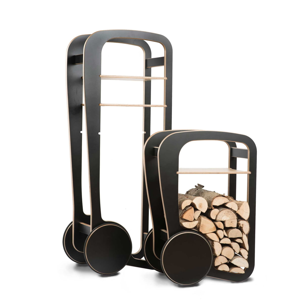 Wood trolley von fleimio design im shop for Design im shop