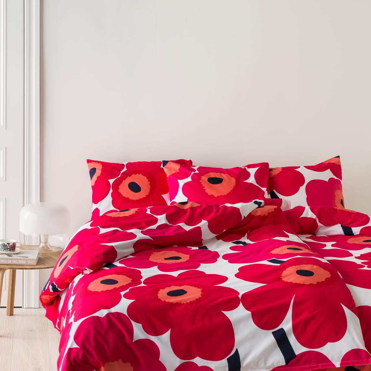 unikko deckenbezug von marimekko connox. Black Bedroom Furniture Sets. Home Design Ideas