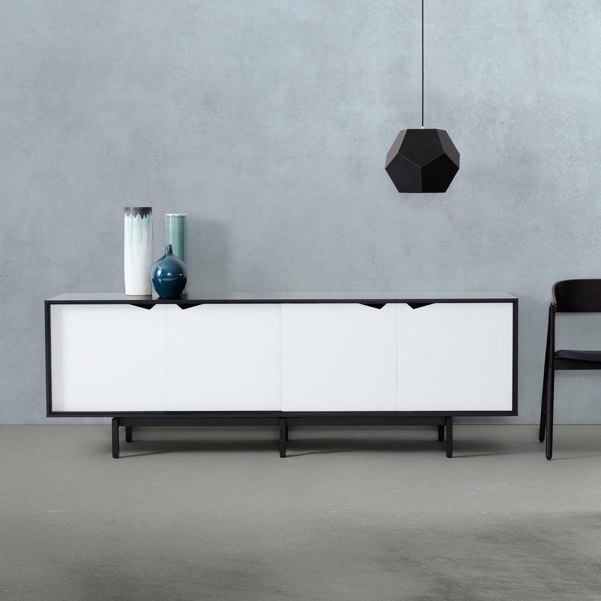 s1 sideboard einfarbig von andersen furniture. Black Bedroom Furniture Sets. Home Design Ideas