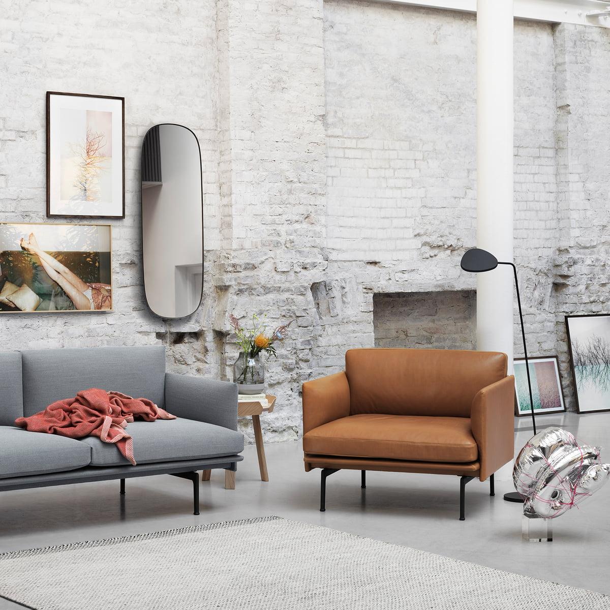 Outline Sofa 2 Sitzer Von Muuto Connox Shop