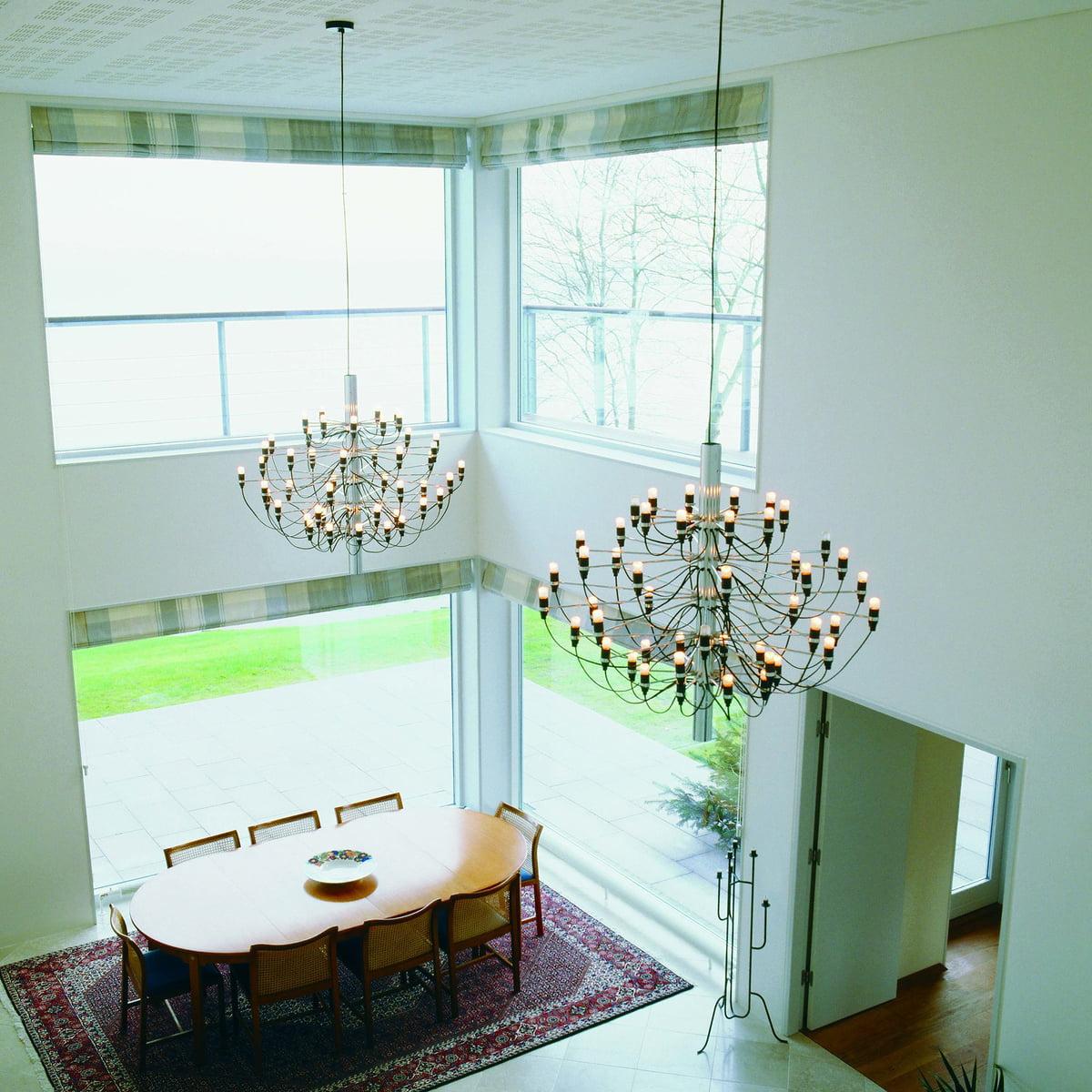 kronleuchter 2097 30 von flos shop. Black Bedroom Furniture Sets. Home Design Ideas
