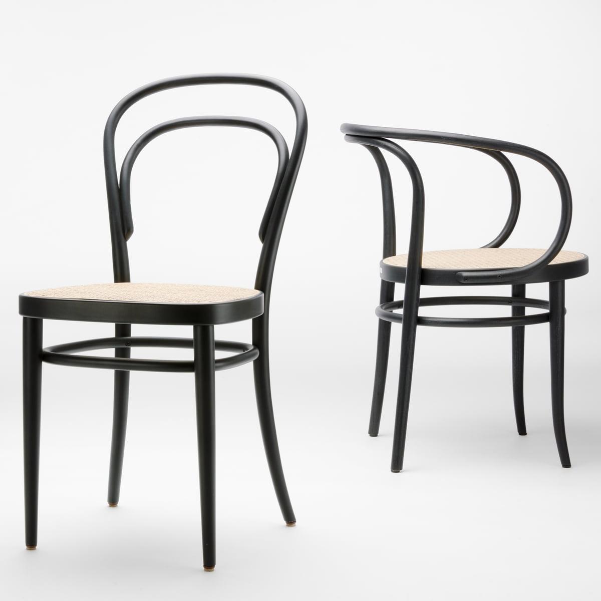 Thonet - 209 Bugholzstuhl| Rohrgeflecht mit Kunststoffstützgewebe / Buche natur (TP 17) | Küche und Esszimmer > Stühle und Hocker > Holzstühle | Thonet