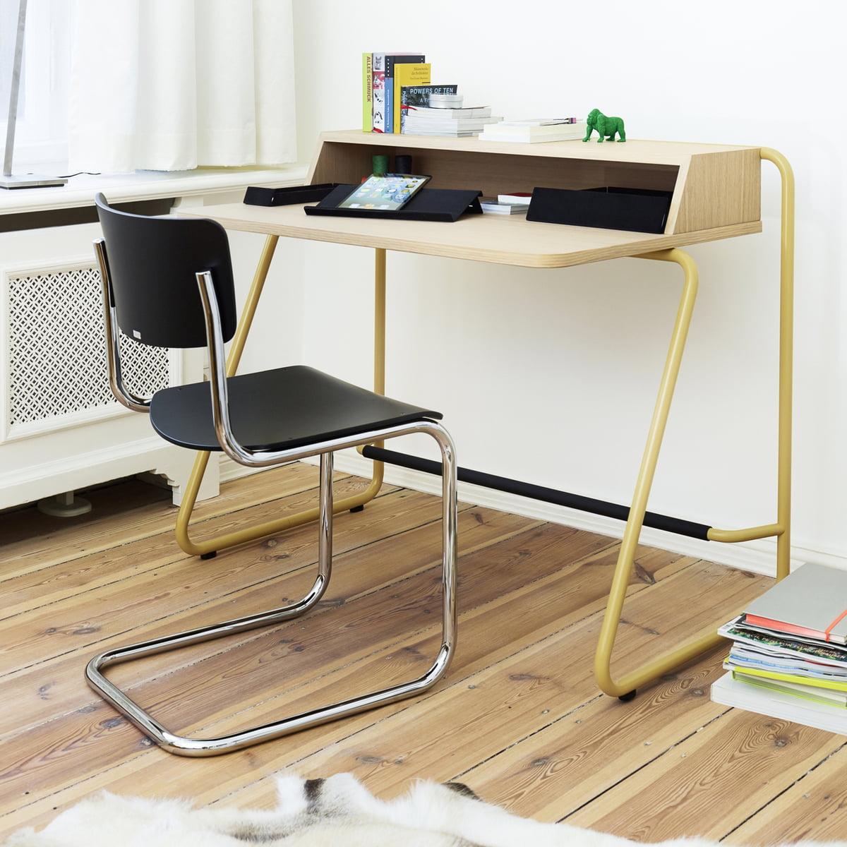 s 43 freischwinger von thonet connox shop. Black Bedroom Furniture Sets. Home Design Ideas