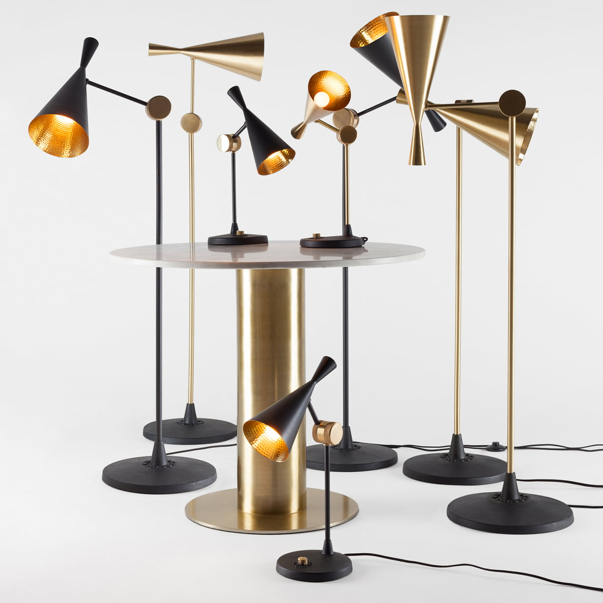 beat stehleuchte von tom dixon connox shop. Black Bedroom Furniture Sets. Home Design Ideas