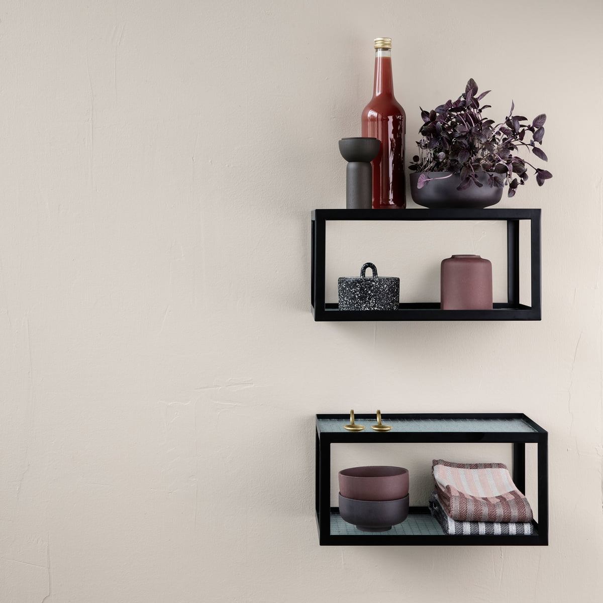 haze wandregal von ferm living connox. Black Bedroom Furniture Sets. Home Design Ideas