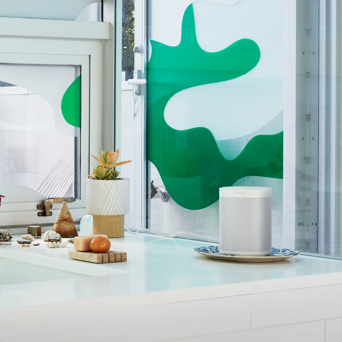 ONE Multiroom All In One Smart Speaker Von Sonos In Weiß