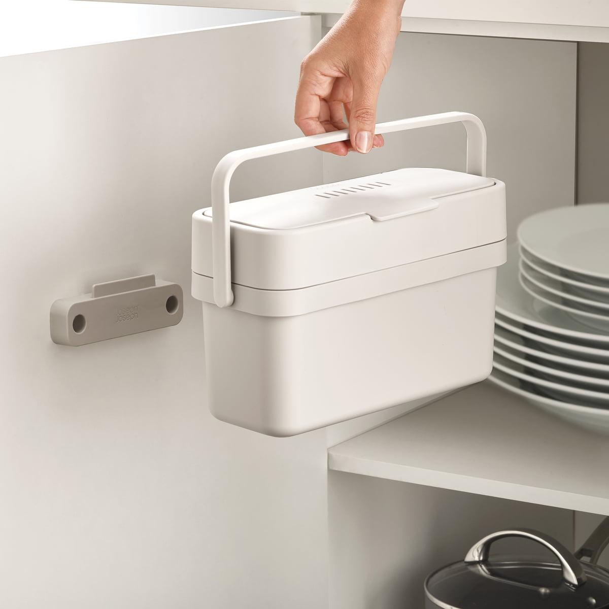Joseph Joseph - Compo 4 Bio-Mülleimer inkl. Halterung  grau   Küche und Esszimmer > Küchen-Zubehör   Joseph Joseph