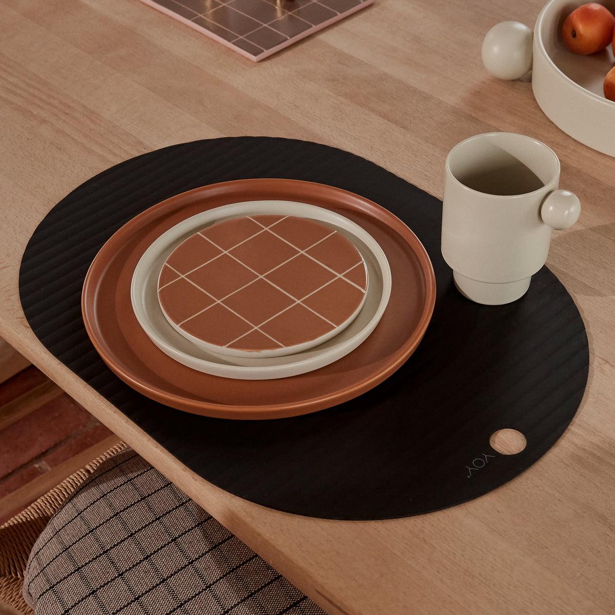 OYOY - Ribbo Tischset oval| oliv | Heimtextilien > Tischdecken und Co | OYOY
