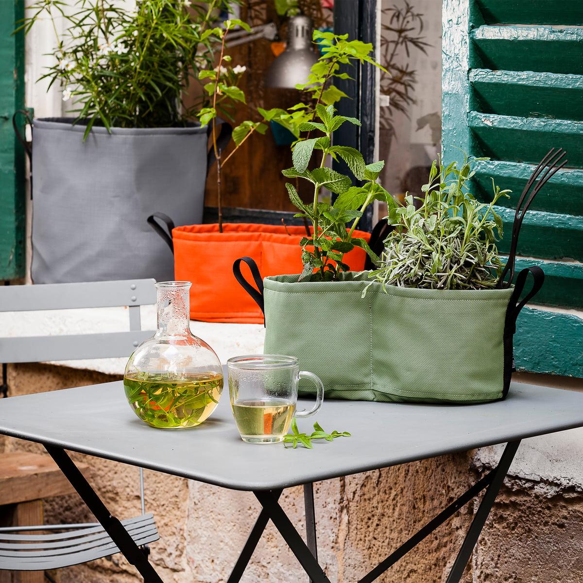 BACSAC - Hanging Window Box Pflanztasche 3 Batyline 25 l| yucca | Garten > Pflanzen > Pflanzen | Bacsac