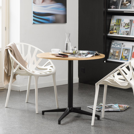 Vitra Bistro Table & Vegetal Chair