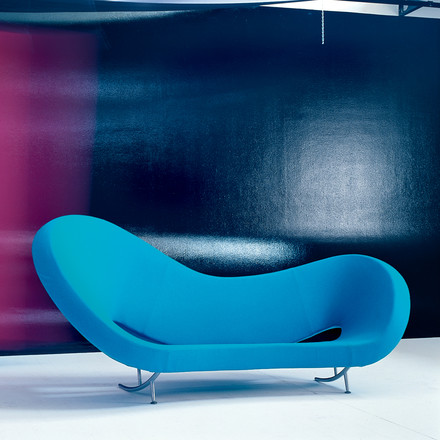 Moroso - Victoria und Albert Sofa - blau Situation