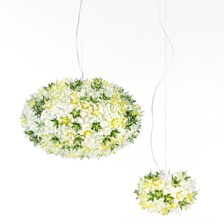 Kartell - Bloom Pendelleuchte, minze