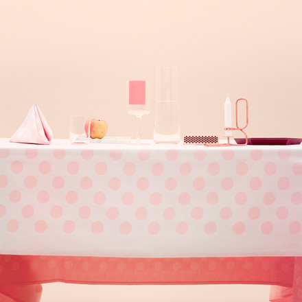 Hay - S&B Tablecloth Dot, pink