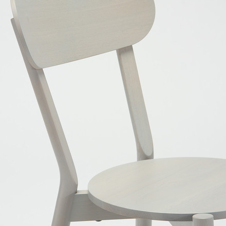 Der Karimoku New Standard - Castor Chair in grau
