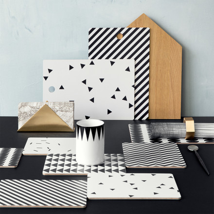 Ferm Living - Hexagon Serviettenringe
