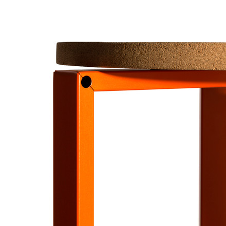 Hay - Stanley Stool, Hocker, orange