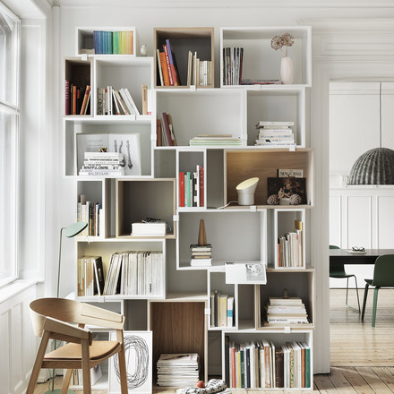 Muuto - Stacked Regalsystem - Bücher