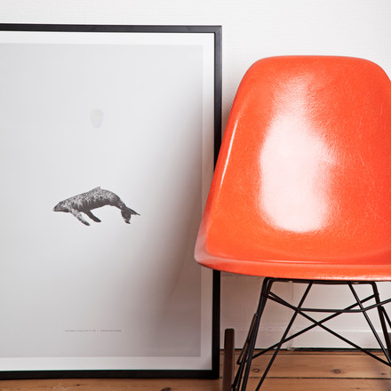 Paper Collective - Poster Whale Reprise