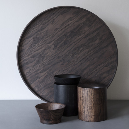 Menu - Wooden Bowl