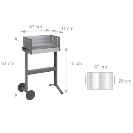 Dancook - Abmessungen 5100 Boxgrill