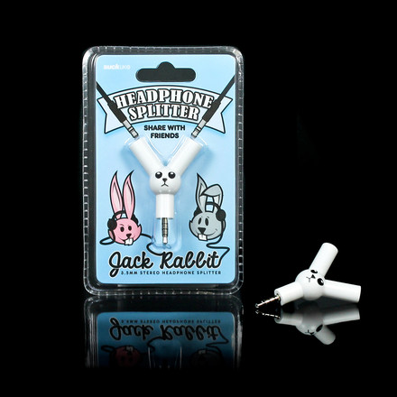 Jack Rabbit Audio-Splitter von Suck Uk