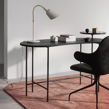 Der &tradition - Palette Table - JH9 in schwarzer Esche / Nero Marquina