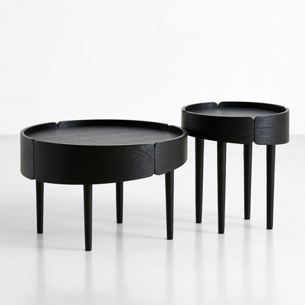 Skirt Coffee Table von Woud in Schwarz