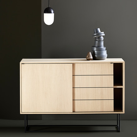 Virka Sideboard High von Woud in Eiche