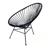 OK Design - The Acapulco Chair, schwarz