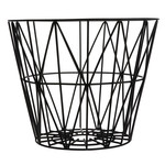 ferm Living - Wire Basket Large, schwarz