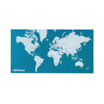 Palomar - Pin World, light blue, standard