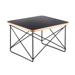 Vitra - Eames Occasional Table LTR, HPL schwarz / basic dark
