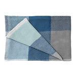 Muuto - Loom Throw, blau