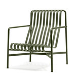 Hay - Palissade Lounge Chair High, olive